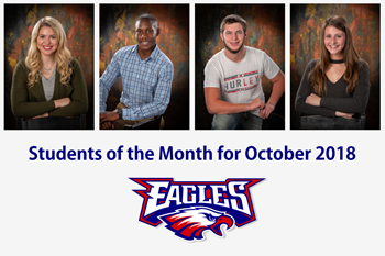 Liberty-Benton High School Students of the Month for October