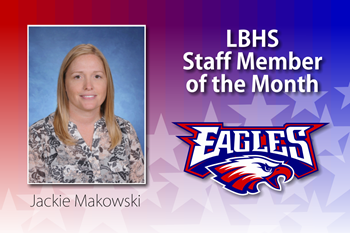 Liberty-Benton High School Staff Member of the Month for January