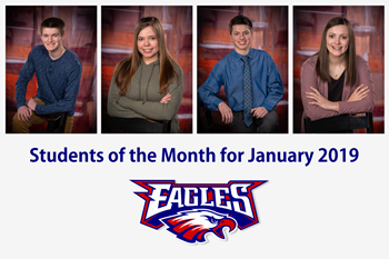 Students of the Month (Jan 2019)