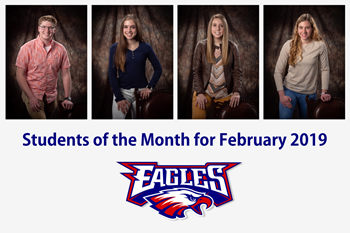 LBHS Students of the Month for February 2019