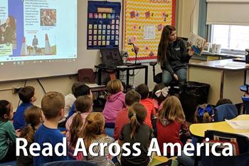 Read Across America Week at LB