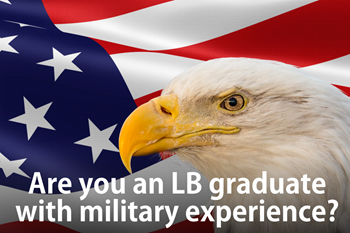 Attention all LB graduates who served in the military
