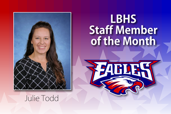 Liberty-Benton High School Staff Member of the Month for March