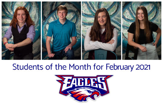 LBHS Students of the Month