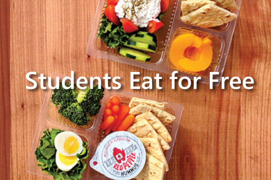 Student eat for free