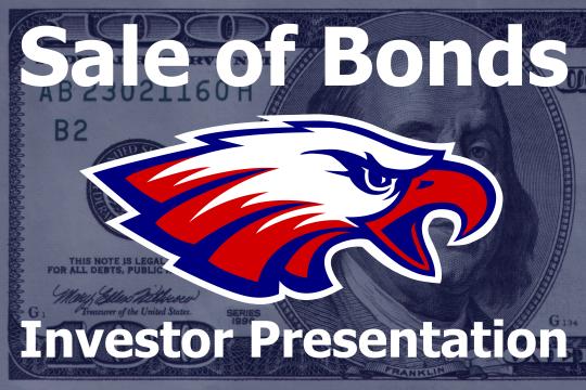 Sale of Bonds - Investor Presentation