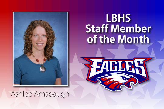 Liberty-Benton High School Staff Member of the Month for May