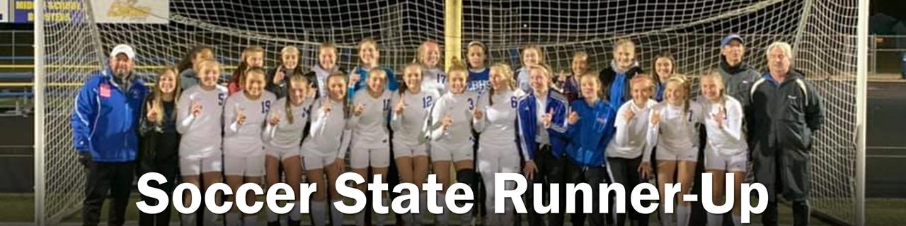 Soccer State Runner-Up