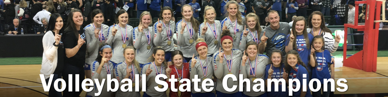 Volleyball State Champions