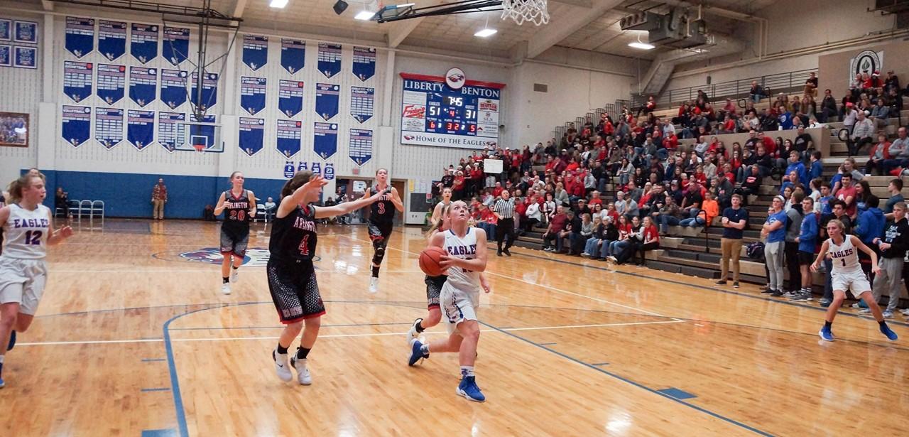 Girls Basketball vs Arlington