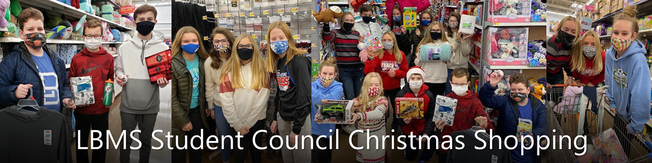 LBMS Student Council Christmas Shopping