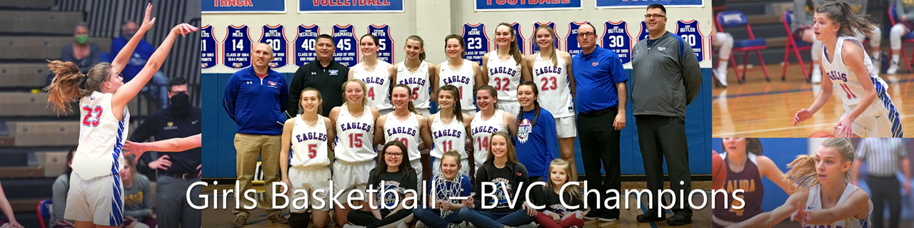 Girls Basketball BVC Champs