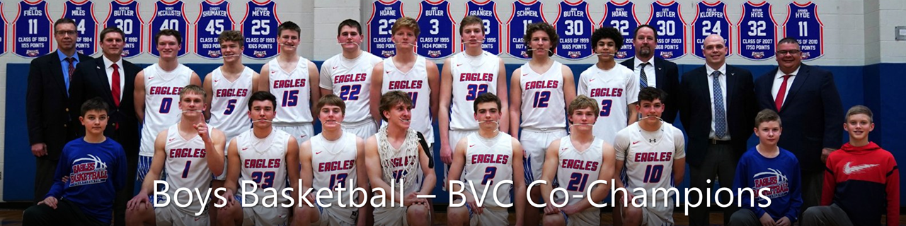 Boys Basketball BVC Co-Champs